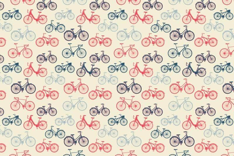 Carta da parati Bike