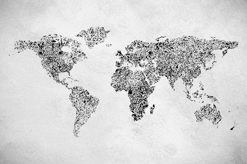 Carta da parati Ink World