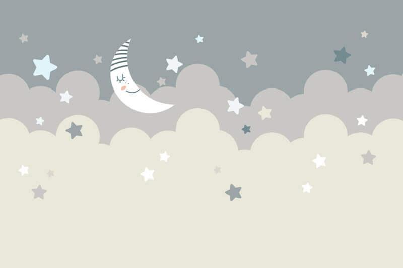 Carta da parati Luna