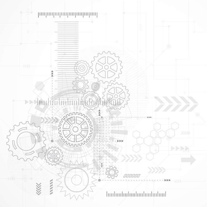 Carta da parati Meccanica