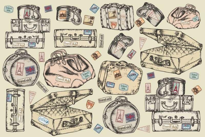 Carta da parati Travel