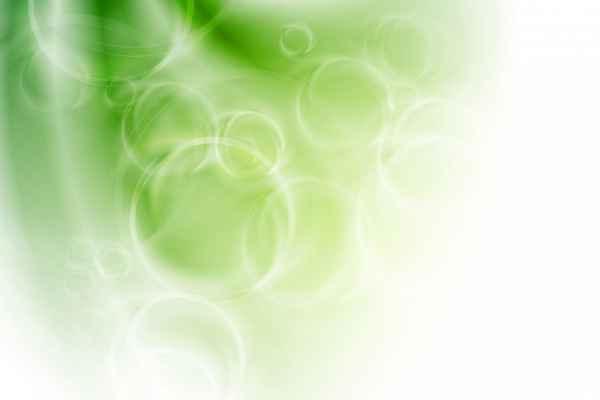 Carta da parati Cerchi Verdi