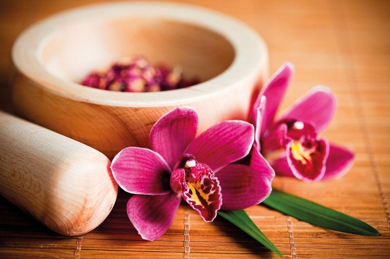 Carta da parati Orchidee Zen