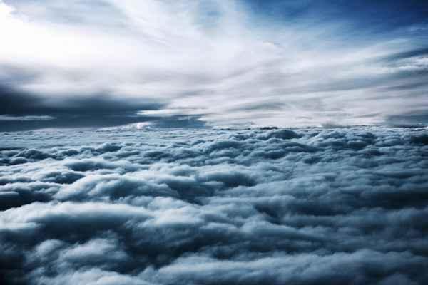 Carta da parati Nuvole