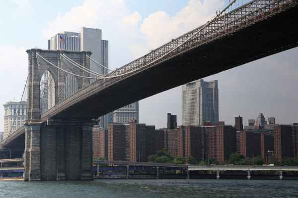 Carta da parati New York, Brooklyn Bridge