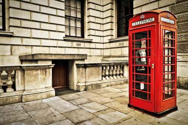 Carta da parati Londra, Cabina Telefonica