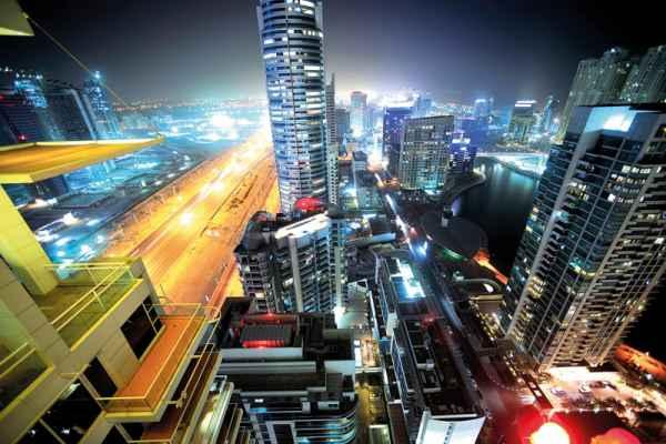 Carta da parati Dubai Night