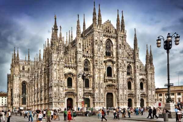 Carta da parati Duomo di Milano