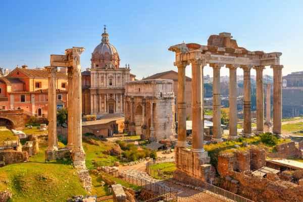 Carta da parati Roma, Foro