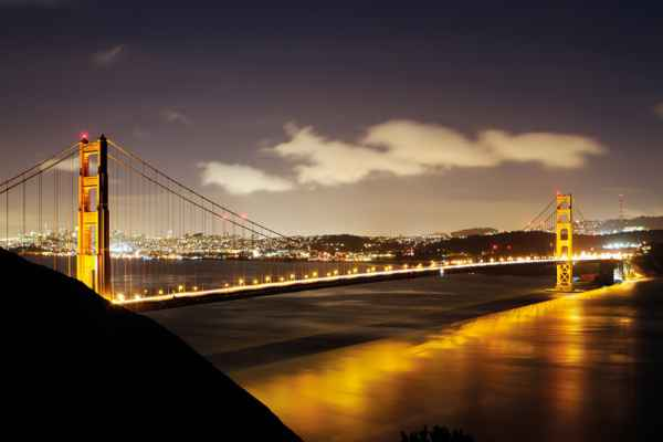 Carta da parati San Francisco, Golden Gate 1