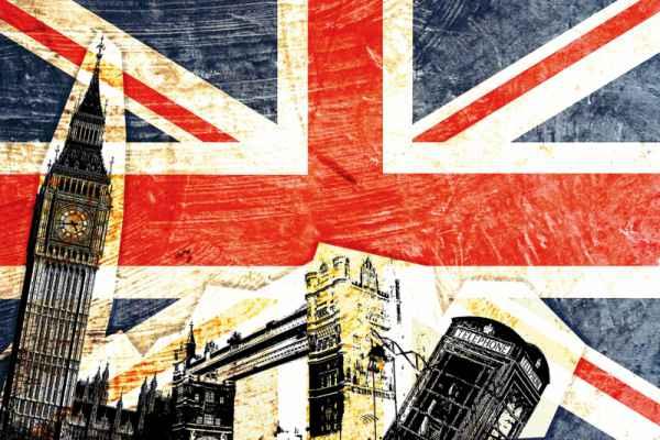 Carta da parati Grafico Londra