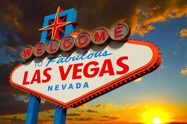 Carta da parati Las Vegas 01