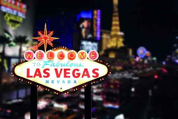 Carta da parati Las Vegas