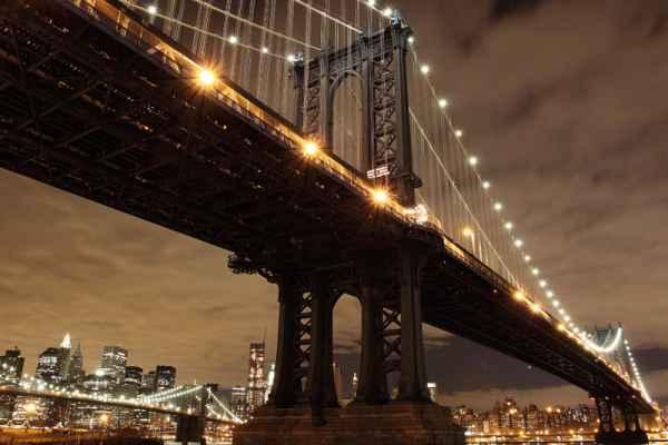 Carta da parati New York, Manhattan Bridge 2