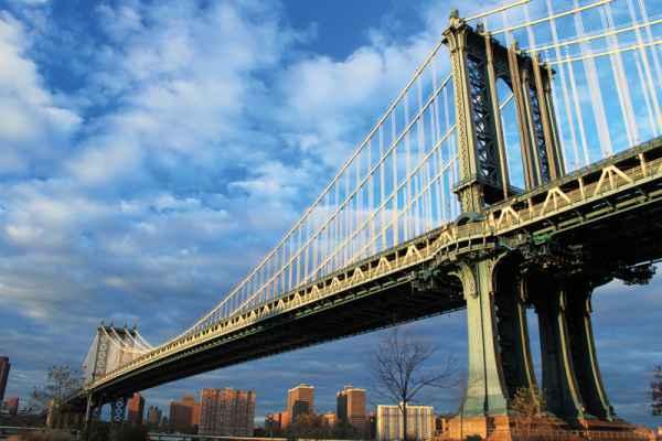 Carta da parati New York, Manhattan Bridge