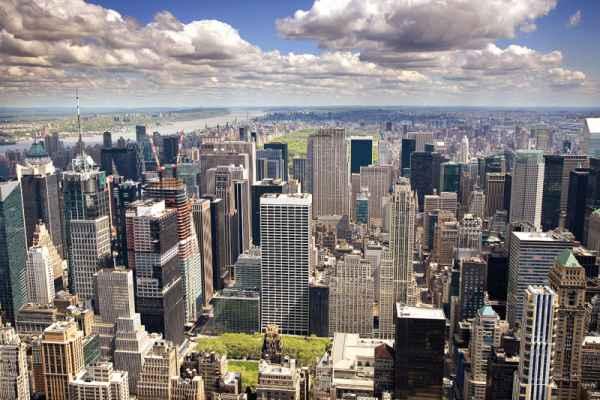 Carta da parati New York, Manhattan Nord