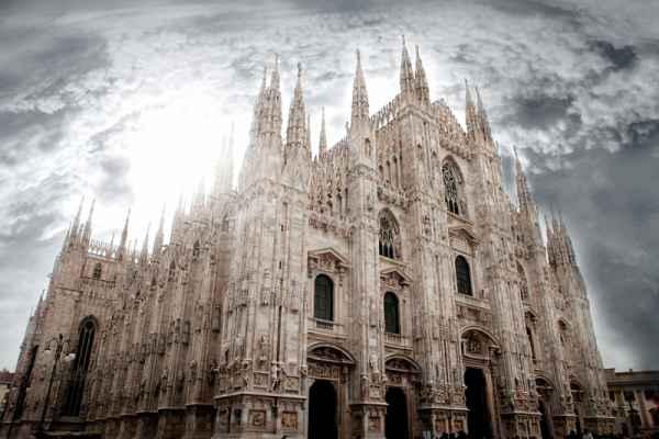 Carta da parati Milano Duomo