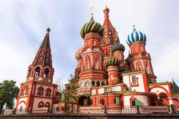 Carta da parati Mosca Cattedrale 02