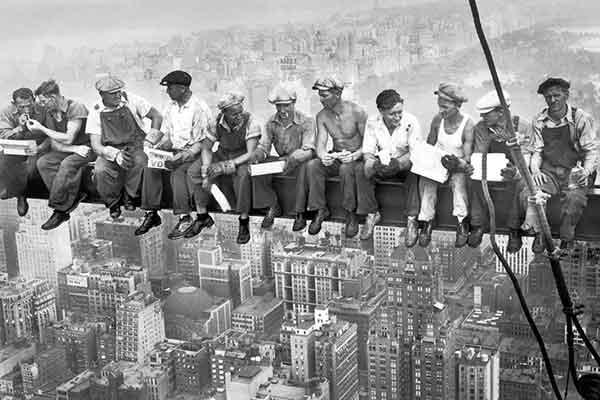 Carta da parati New York 1932