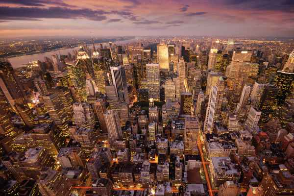 Carta da parati New York City