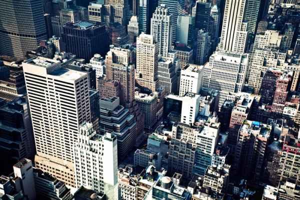 Carta da parati New York City Vintage