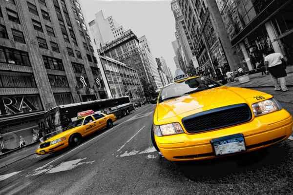 Carta da parati New York Taxi 2