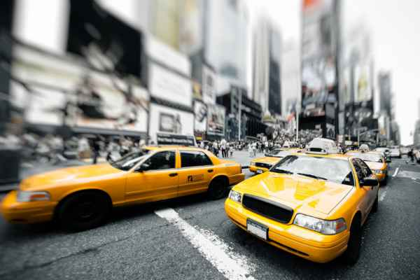 Carta da parati New York Taxi 3