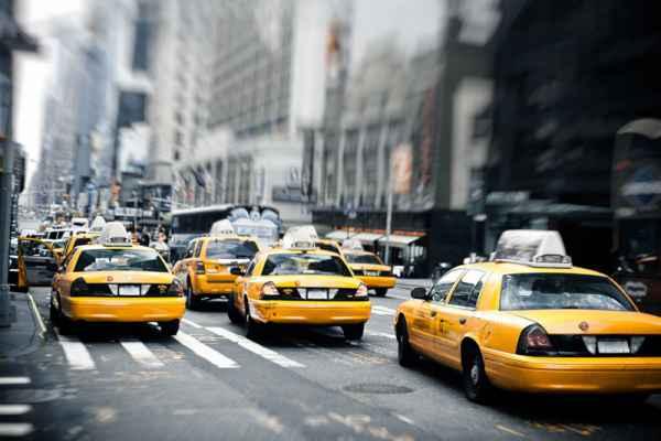 Carta da parati New York Taxi