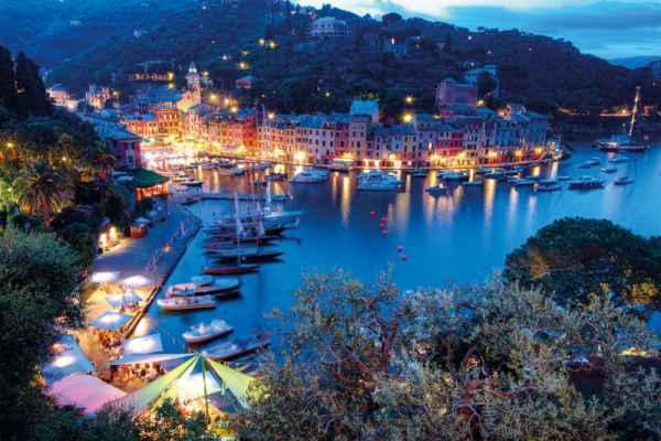 Carta da parati Portofino Night