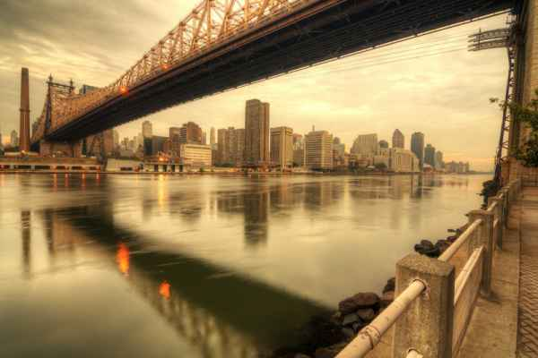 Carta da parati New York, Queensboro Bridge