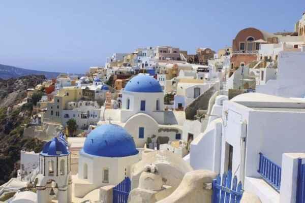 Carta da parati Santorini 1