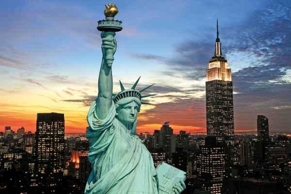 Carta da parati New York, Statue of Liberty