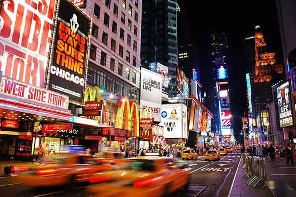 Carta da parati New York, Time Square 1