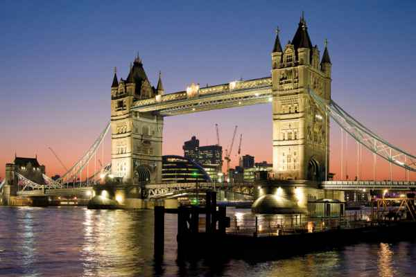 Carta da parati Londra, Tower Bridge