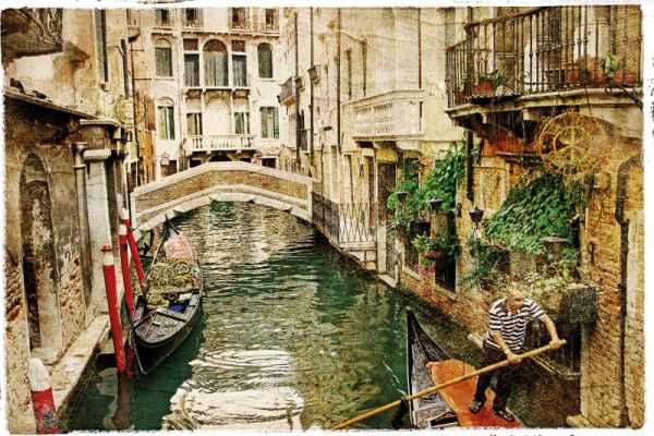 Carta da parati Vecchia Venezia