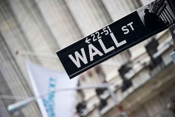 Carta da parati New York, Wall Street