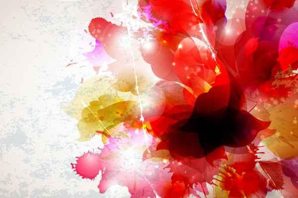Carta da parati Flower Painting