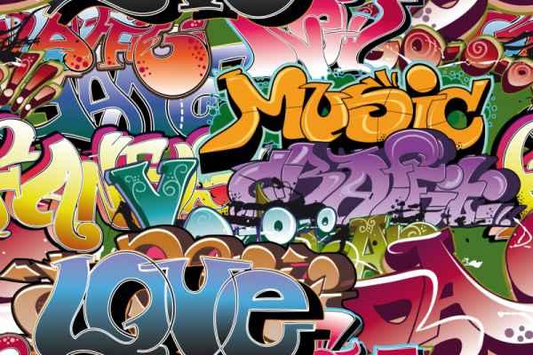 Carta da parati Graffito 1