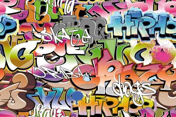 Carta da parati Graffito 2