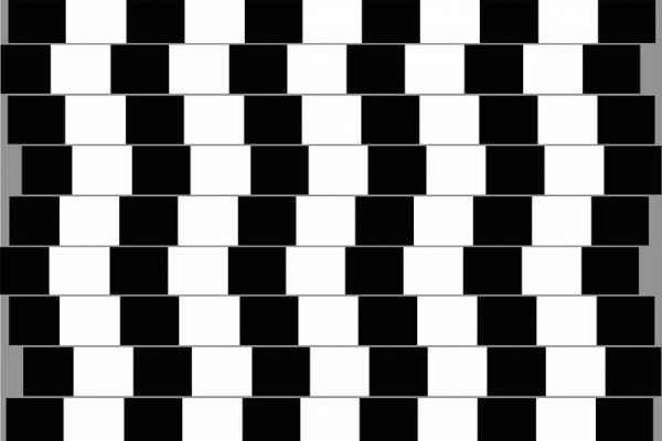 Carta da parati Illusione Ottica