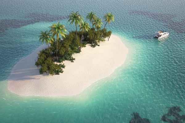 Carta da parati Isola del paradiso