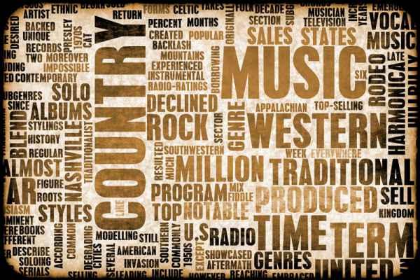 Carta da parati Country Music