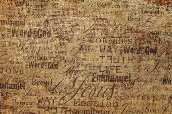 Carta da parati Tela religiosa