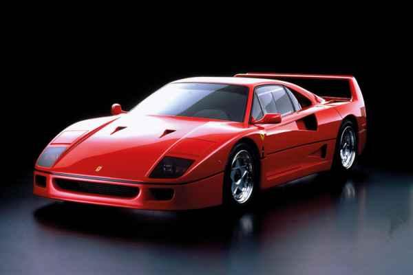Carta da parati Ferrari F40