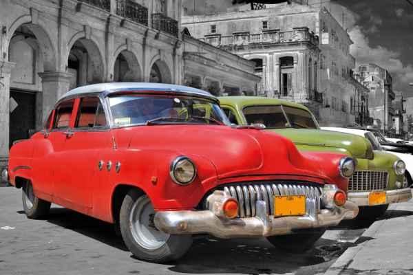 Carta da parati Havana Cars