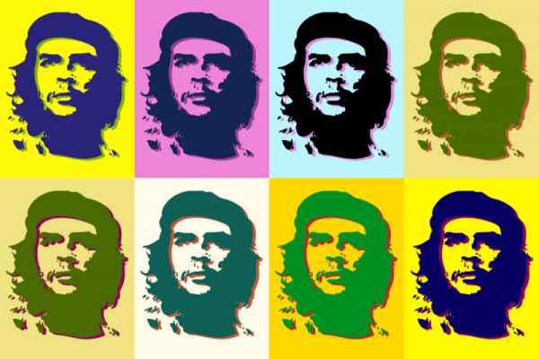 Carta da parati Che Guevara
