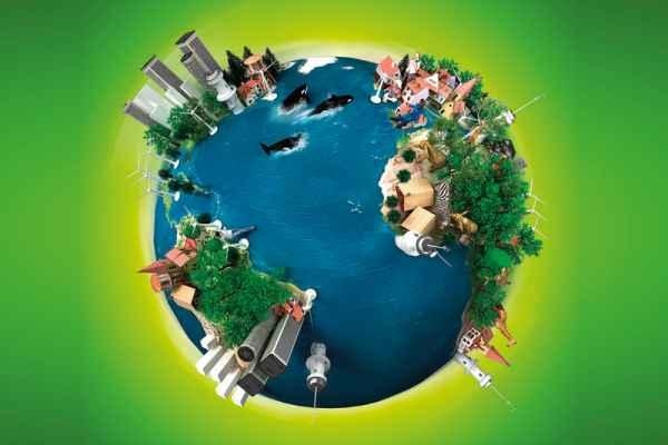 Carta da parati Disegno Terra