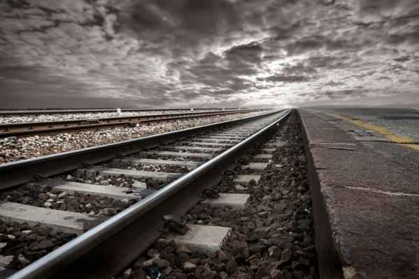Carta da parati Ferrovia Vintage